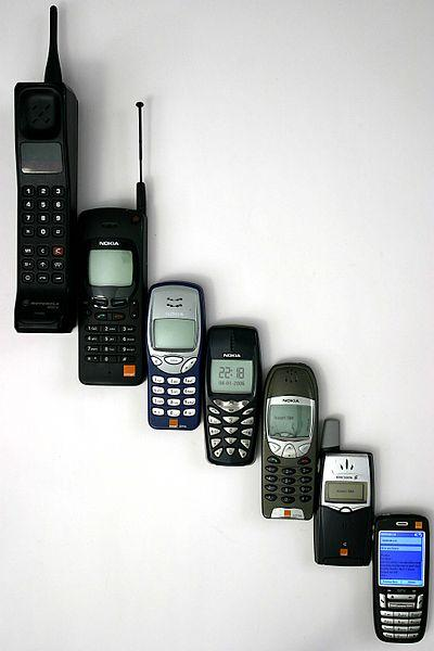 Evolucija mobilnih uređaja