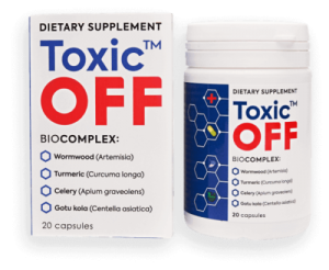 Toxic Off – ljekarna – gel – instrukcije